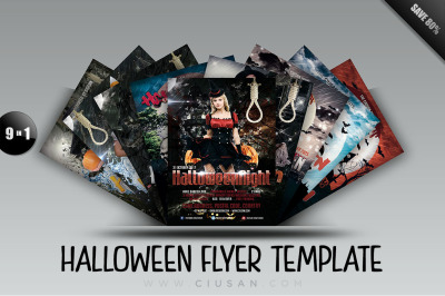 Halloween Flyer Template - Bundle