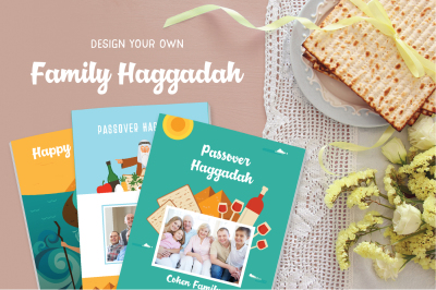 Passover Haggadah design kit