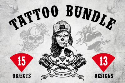 Tattoo bundle. Discount inside