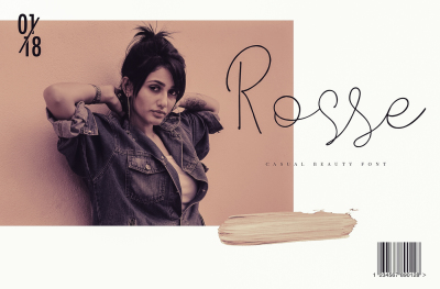 Rosse - Casual Beauty font