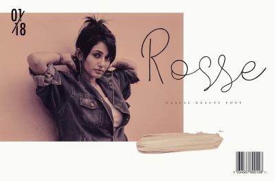 Rosse - Casual Beauty font