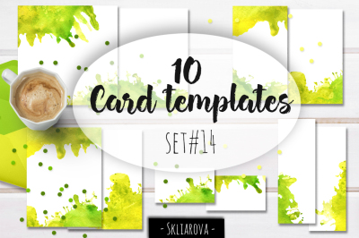 Card templates set #14