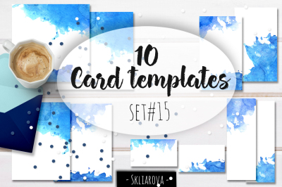 Card templates set #15