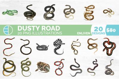 Snake Bundle (20 Snakes)
