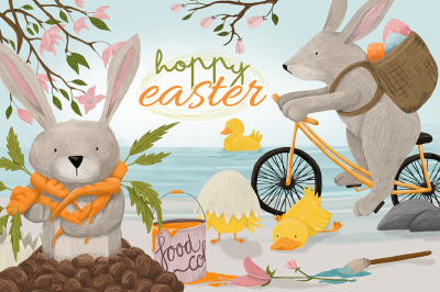 Hoppy Easter Graphics
