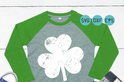 St Patricks svg&2C; grunge Clover svg&2C; Shamrock svg&2C; distressed grunge&2C;
