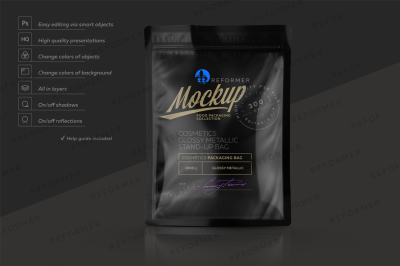 Download 4 Metallic Cans In Shrink Wrap Mockup Half Side View Yellowimages