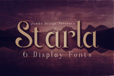 Starla - Display Font