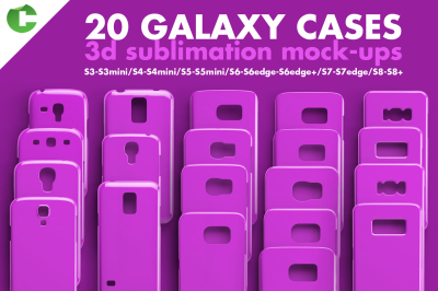 20 Galaxy case mock-up