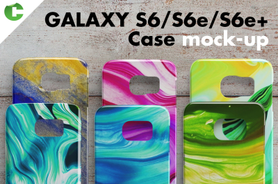 Galaxy S6/S6 edge/S6 edge + case mock-up