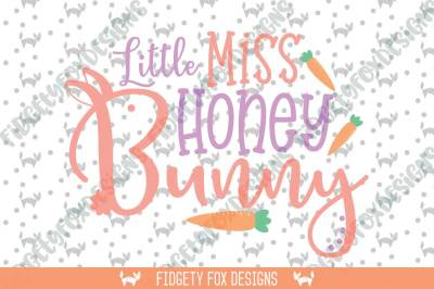 Honey Bunny Svg Dxf Cutting file for cameo and cricut Easter Svg