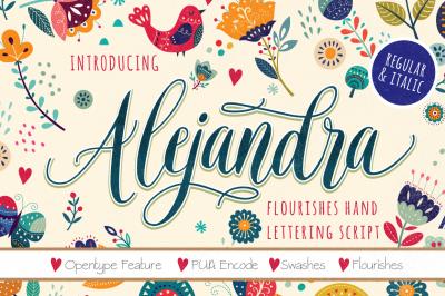 Alejandra Script