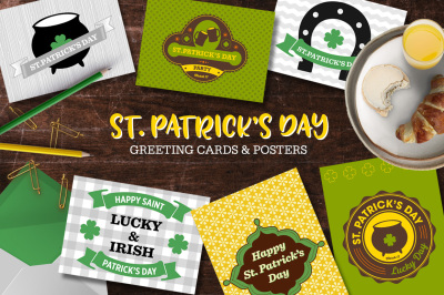 St. Patricks Day Greeting Cards