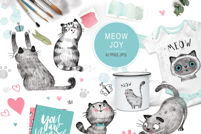 CATS joy (graphic pack)