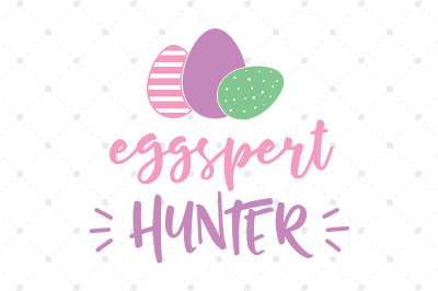 Eggspert Hunter SVG file