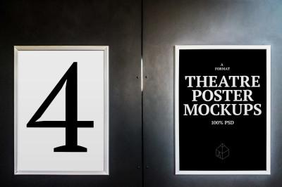 Theatre Poster Mock-Ups