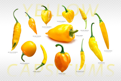 Yellow Capsicums