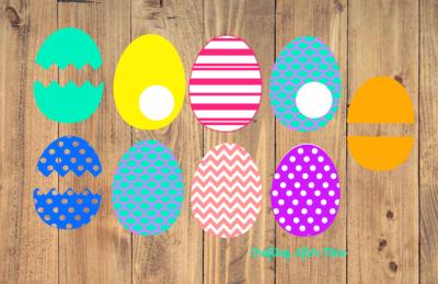 9 Easter Egg Svg Files