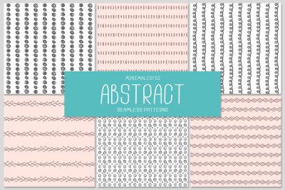 6 ABSTRACT seamless patterns