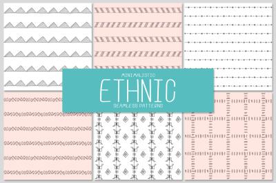 6 ETHNIC seamless patterns