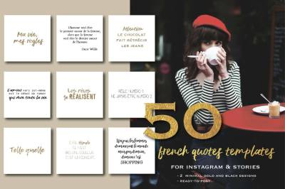 50 french quotes for social media