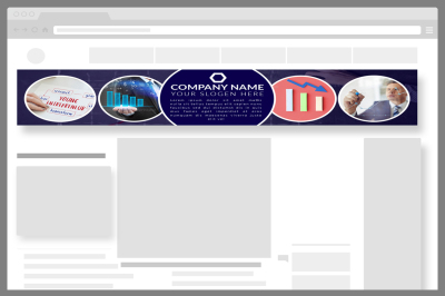 Business Website Banner Template