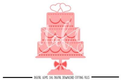 Wedding Cake SVG / PNG / EPS / DXF Files