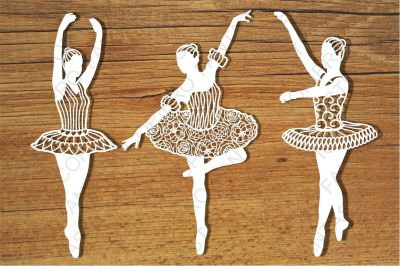 Dancer Classic svg files for Silhouette Cameo and Cricut.