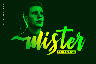 Mister Fast Italic (Only 1$)