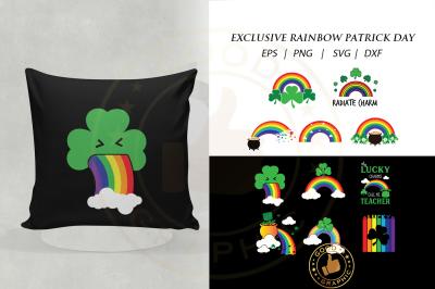 Exclusive rainbow patrick day