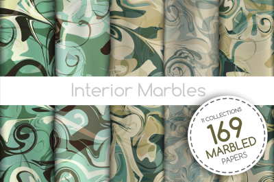 The BIGGEST 169 Marbled Paper Collection
