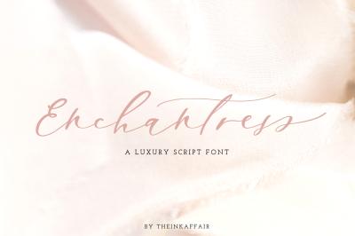 Enchantress | Luxury Script Font
