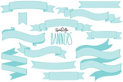 Banners, Vector & PNG