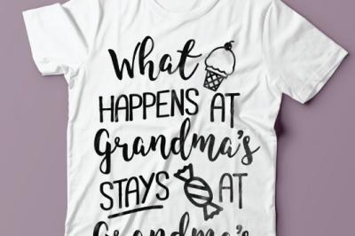 What Happens At Grandma's SVG