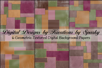 Geometric Digital Background Papers
