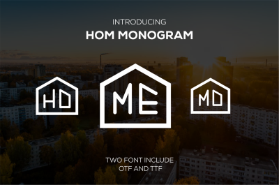 HOM Monogram (rounded)