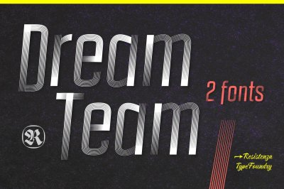 DreamTeam 2 Fonts