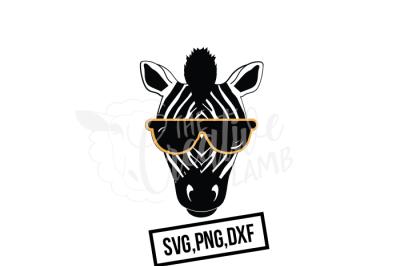 Zebra SVG, Animal SVG, Zoo SVG