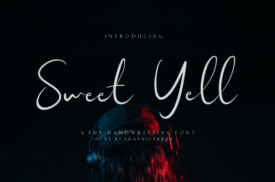 Sweet Yell - A Fun Handwritting