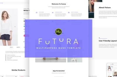 Futura-Multipurpose Responsive Muse Template