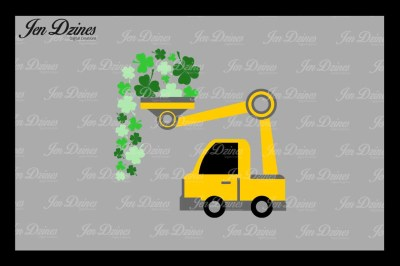 St Patrick's Day Loads of Luck SVG DXF EPS PNG