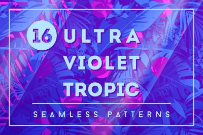 16 Ultraviolet Tropic Patterns