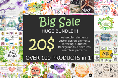 All shop Bundle - Over 100 Products in one!