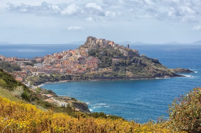Beautiful view on Castelsardo