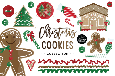 Christmas Cookies Graphics & Pa