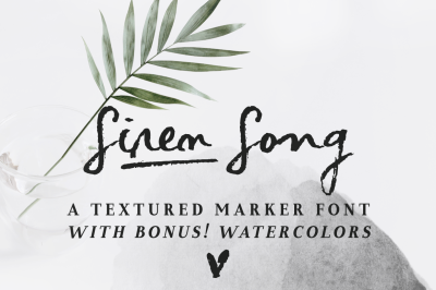Siren Song | a handwritten font