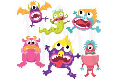 Hot Litter Monsters