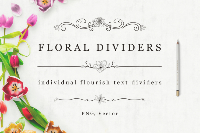 Flourish Dividers & Text Frames