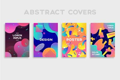 Gradient Posters Template