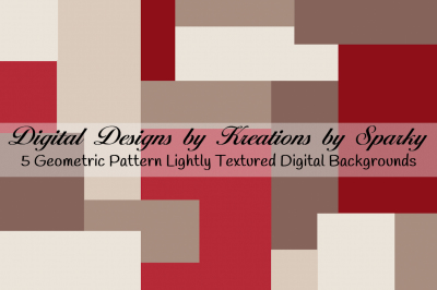 Red Geometric Lightly Textured Digital Background Papers